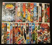 The New Teen Titans Vol.2 28bk From The 1-49 Run W/ Annuals 1-4 1984 Wolfman