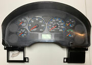 2002 International 4300 Pollak Instrument Cluster P/n A001113506748 Unknown Mile