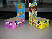 Pez 1970s Disney Mexico 1 Candy Box Store Display Mickey Mouse Hot Air Balloon