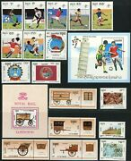Cambodia 1990-1991 Postage Stamp Collection Asia Republic Kampuchea Mint Nh