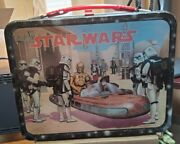 Vintage Star Wars 1st Edition 1977 Lunch Box And Thermos Fantastic Condition