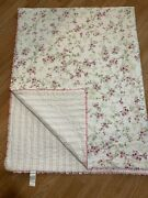 Simply Shabby Chic Twin Comforter Quilt Cottage Floral