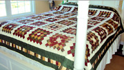 Handmade Patchwork Quilt- Queen Size Quilt- Unique Gift-christmas Gift