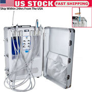 Mobile Dental Portable All In One Delivery Unit Curing Light Ultrasonic Scaler U