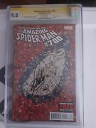 Amazing Spiderman 700 Cgc 9.8 Signed By Stan Lee