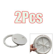 2xanti-corrosive Abs Boat 6 Deck Inspection Access Hatch Plate For Marine
