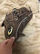 Baseball Glove Asics Gold Stage Nubuck For Pitchers Sports Leisure Brown I14819