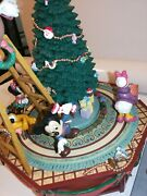 Disney Enesco Vintage Mickey And Friends Christmas Jamboree Action Musical. Used