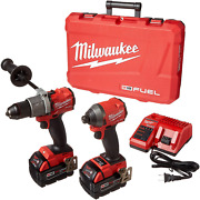 Milwaukee's Electric Tools 2997-22 Hammer Drill/impact Driver Kit