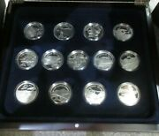 History Of Powered Flight 2003 13 1oz Silver Proof Solomon Islands 25 Coin Set