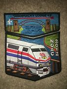 Boy Scout Suanhacky 49 Greater New York Queens 2012 Train Council Flap Patch Set