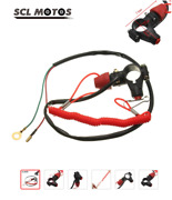 Universal Boat Outboard Engine Motor Kill Stop Safety Switches Tether Lanyard