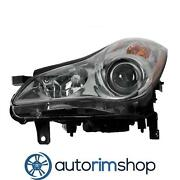 Left Driver Side Headlight Lens And Housing For 2010 Infiniti Ex35 In2518114oe