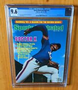 Sports Illustrated 1985 Gooden Fc Newsstand Cgc 9.6 None Higher Willneverbe Beat