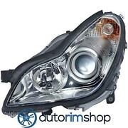 Left Driver Side Headlight For 2006 Mercedes Cls55 Mb2502147