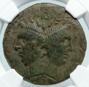 Sextus Pompey Son Of Pompey The Great 43bc Ancient Roman Coin Sicily Ngc I89478