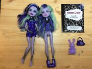 Monster High Twyla Dolls Clothing And Accessories Lot Including 13 Wishes