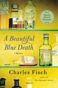 A Beautiful Blue Death Charles Lenox Mysteries Finch, Charles Paperback Used