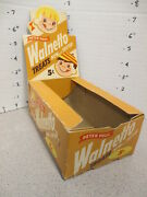 Walnetto Peter Paul 1950s Vintage Candy Box Store Display Cartoon Kids