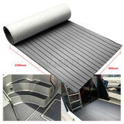 90and039and039x35and039and039 Teak Decking Marine Boat Flooring Carpet Sheet Yacht Eva Foam Pad Gray