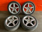 05-06 Acura Rsx Type S - Factory 17 Inch Wheels And Tires - Rims - Oem Oe - 56
