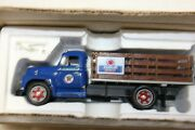 134 First Gear 1955 Diamond T Texaco Havoline Stack Truck With Load