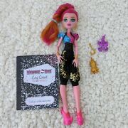 Monster High Gigi Grant 13 Wishes Doll Pet Outfit Shoes Diary Purse Euc