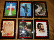 Wholesale Close-outs Framed 3 X 4 Artwork/sayings Magnets Friends Funny Music