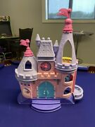 Fisher Price Little People Disney Castle And Princess Klip Klop Horse Stable
