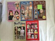 5 Books Doll Values Antique To Modern - Authors Smith, Moyer And Edward