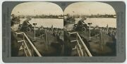 Chicago Sv - Cop Expo - Lagoon And Island Panorama C1933