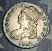 1832 Capped Bust Silver Half Dollar Collector Coin Free Shipping