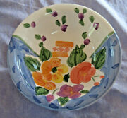 Bella Ceramica Floral Cereal Soup Bowl Italian Farmhouse Replacement Handpainted