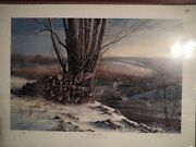 Terry Redlin Breaking Away Signed And Numbered 344/960