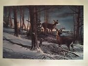 Terry Redlin Night Watch Signed And Numbered 998/2400 Strict Limited