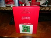 Hallmark He-man Masters Of The Universe Castle Grayskull Ornament 2021 Sold Out