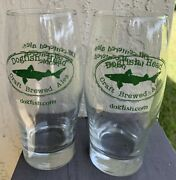 2 - Dogfish Head Craft Brewed Ales Rounded Pint Glasses