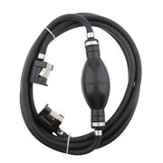 Marine Outboard Boat Fuel Hose Line Assy With Primer Bulb For Yamaha - 6mm