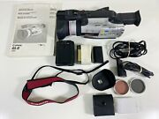 Canon Gl2 A Digital Video Camcorder Minidv Sd 3ccd With Case And Accessories