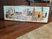 Thomas Lloyd Ramsier Signed Painting Of The Chicago Skyline Make Me An Offer
