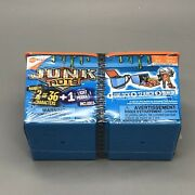 New Hexbug Junkbots Dumpster 2pack - Includes 2 Bots - 30 Pieces - New Sealed