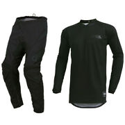 2021 Oneal Element Classic Motocross Mx Kit Pants Jersey - Black Stealth