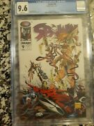 Spawn 9 Cgc 9.6 Nm+ 1st Appearance Of Medieval Spawn And Angela