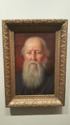 Joseph B Kahill Oil Painting On Panel Portrait American Maine To 3163 Auction