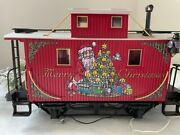 Lgb 44650 Christmas Caboose C7 Excellent With Light Function