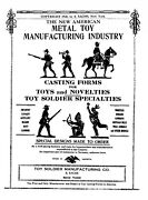Lead Tin Mold Metal Toy Soldier Mfg Co Sachs 1920s Catalog Pdf File