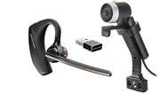 Poly Home Kit Eagleeye Mini Webcam And Voyager 5200 Uc Bluetooth Headset