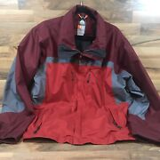 Nike Acg Vintage All Conditions Gear 3 Outer Layer Storm Fit Jacket Red Xl