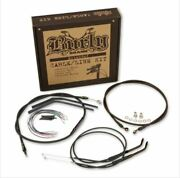 Burly Brand T-bar Cable And Brake Line Kits Motorcycle Street Bike