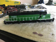 Ho Scale Athearn Sd40-2 Diesel Burlington Northern 7151 Tested